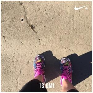 Half Marathon  (13.2  Battery went dead on my run)